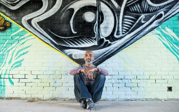 Prominent Graffiti Artist Brightens Brockport Campus